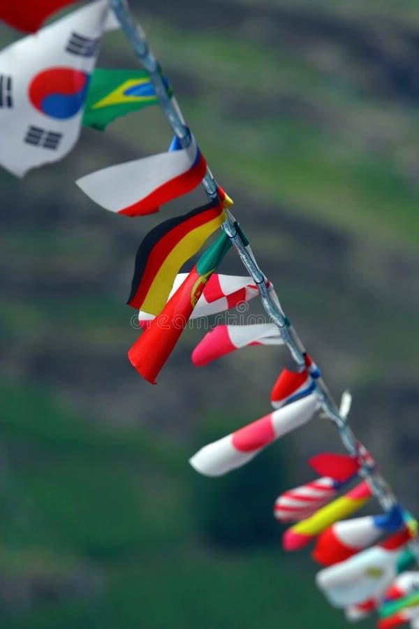 Sznurek Flaga. Bezpłatne Zdjęcie Stock