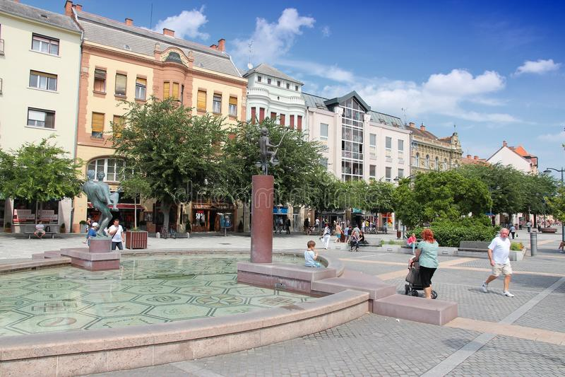 Szombathely, Hongarije royalty-vrije stock fotografie