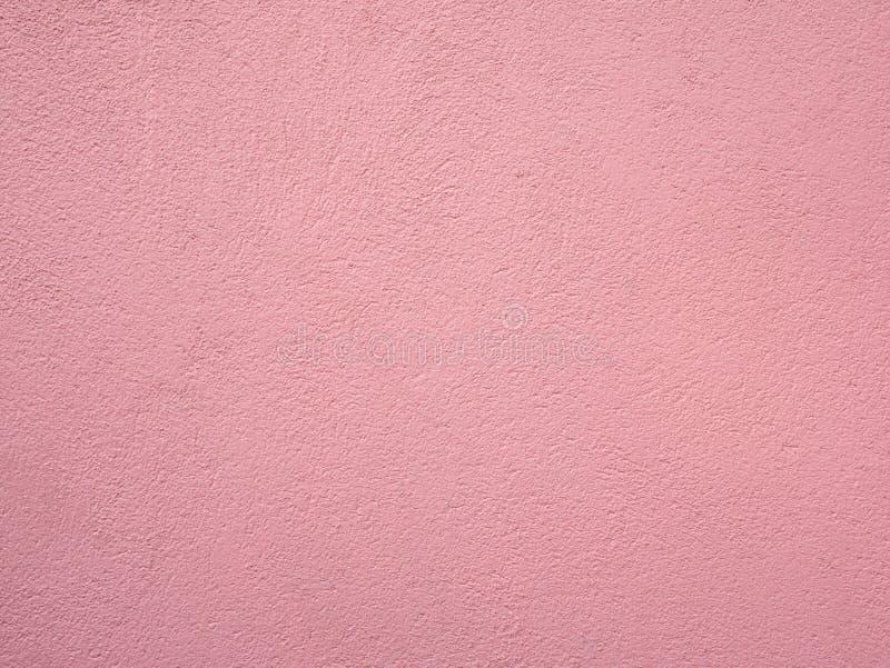 Szorstka różowa betonowa ściana malował retro rocznika abstrakta backgroud obraz royalty free