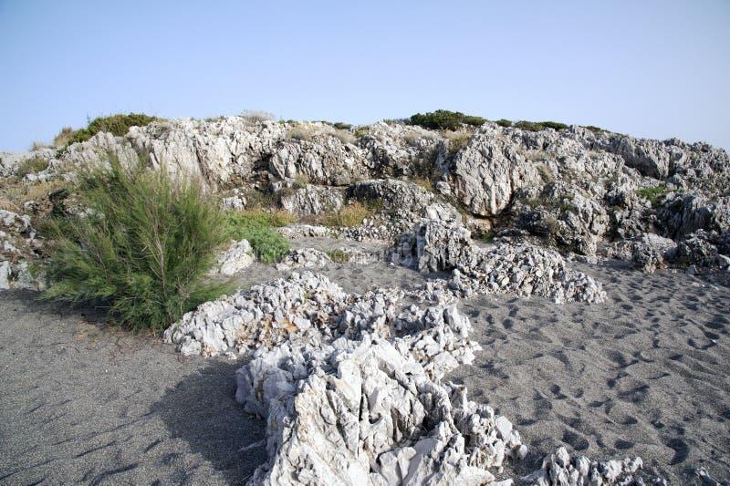 Szorstki clifftop zdjęcie stock
