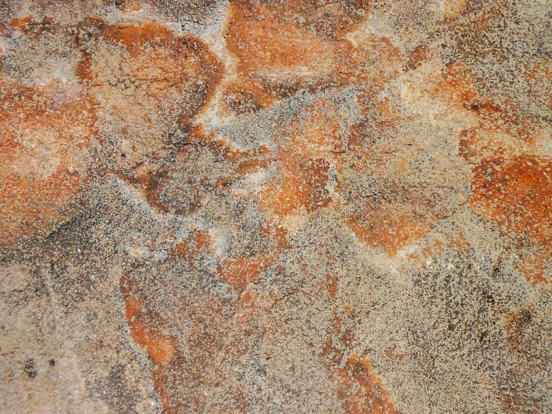 Szorstki Słoisty ocechowanie Betonowa tekstura obrazy stock