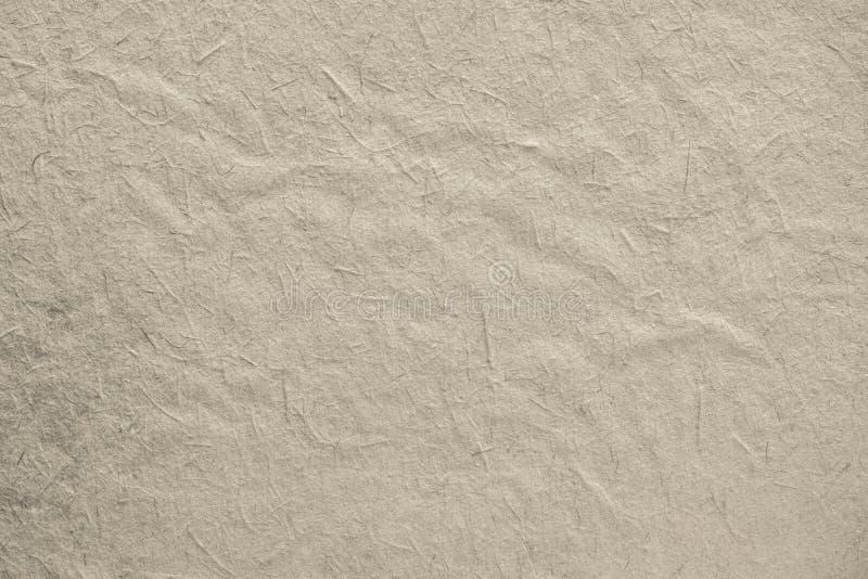 Szorstki textured nawierzchniowy stary papier beżowy kolor obraz royalty free