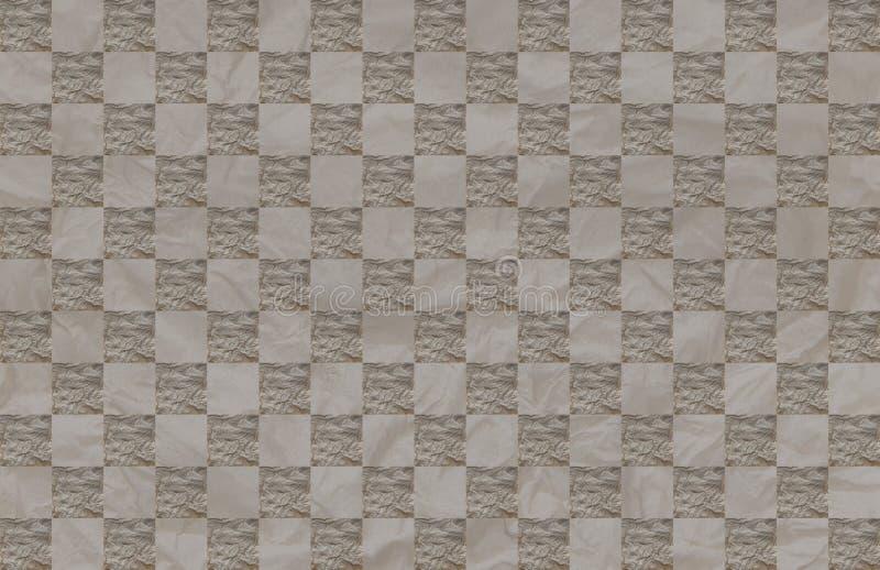 Szorstkiej powierzchni tło starzejąca się papierowa ilustracja - Bezszwowy wzór fotografia royalty free