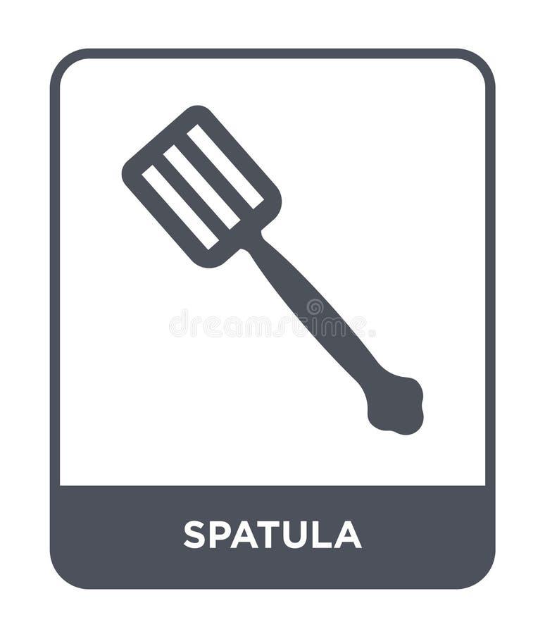 szpachelki ikona w modnym projekta stylu Szpachelki ikona odizolowywająca na białym tle szpachelki wektorowej ikony prosty i nowo ilustracji