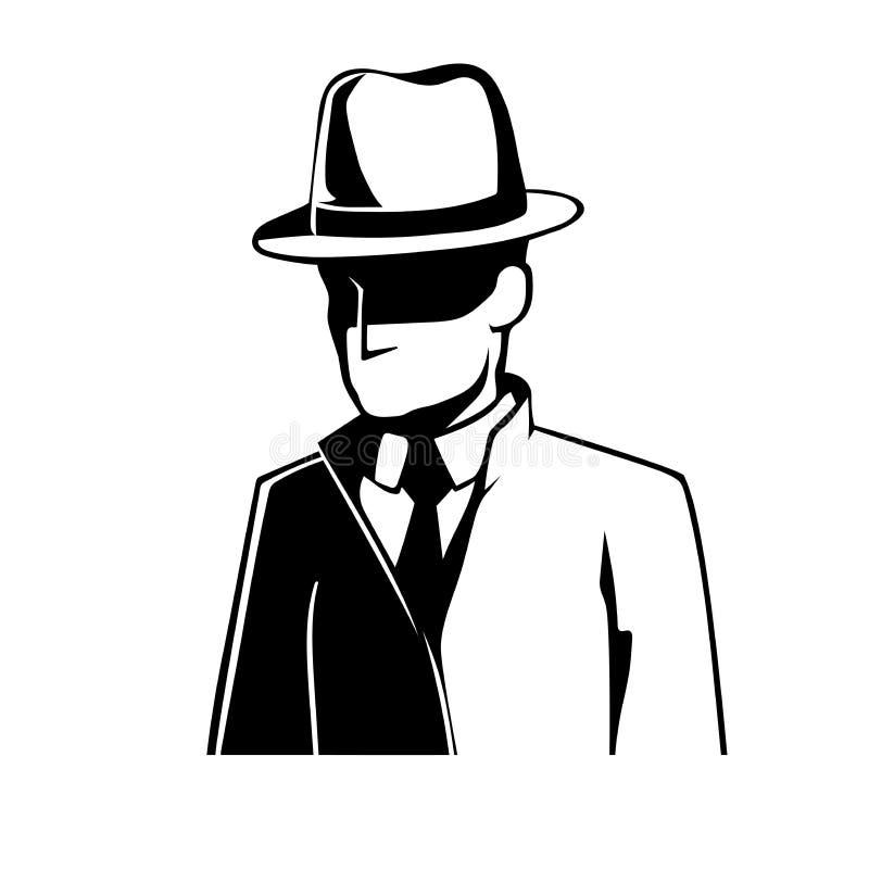 szpieg royalty ilustracja