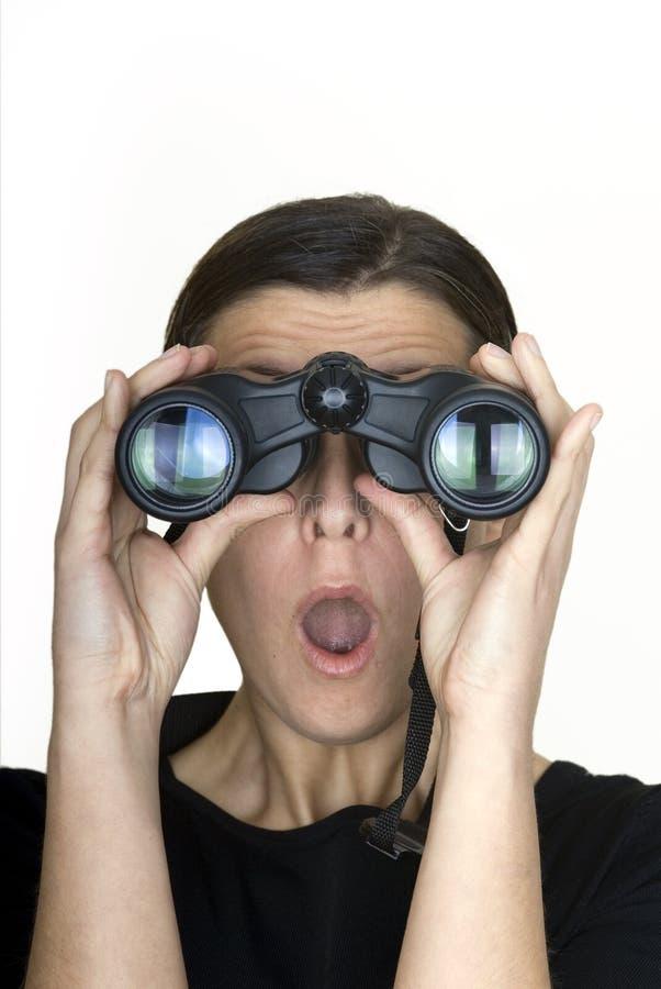 szpiegował fotografia stock