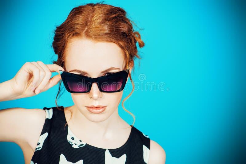 Szpilka okulary przeciwsłoneczni obrazy royalty free