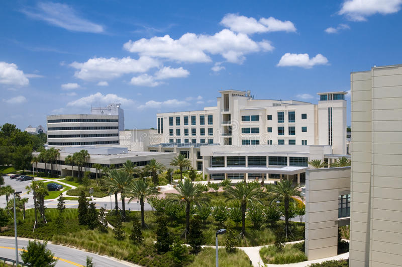 szpitala krajobraz obrazy royalty free