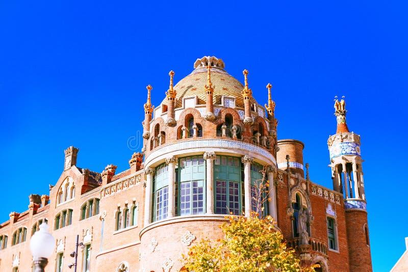Szpitalny Santa Creu ja Sant Pau obraz stock