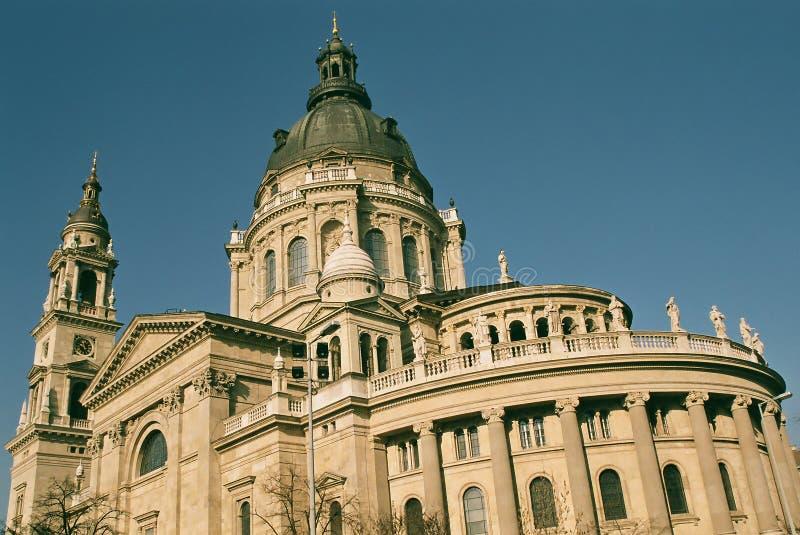 Szt. Istvan Church, Budapest royalty free stock image