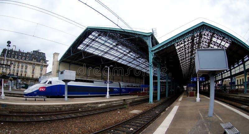 sztachetowa Lyon stacja fotografia stock