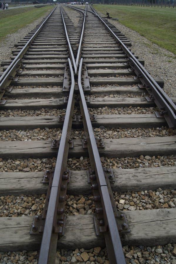 Sztachetowy pociąg zdjęcia royalty free