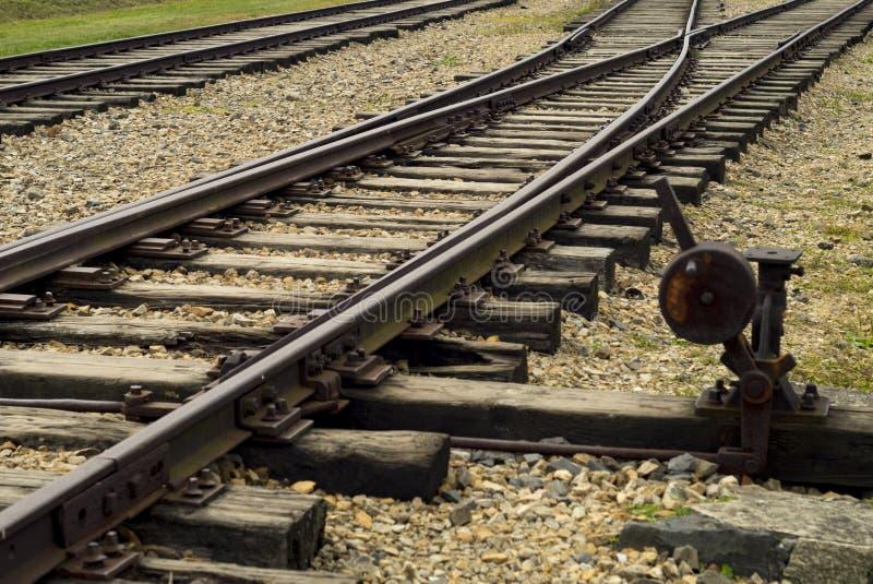 Sztachetowy pociąg zdjęcie stock