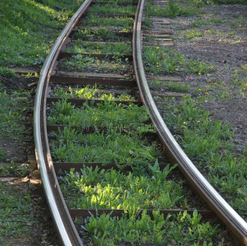 Sztachetowy pociąg zdjęcia stock