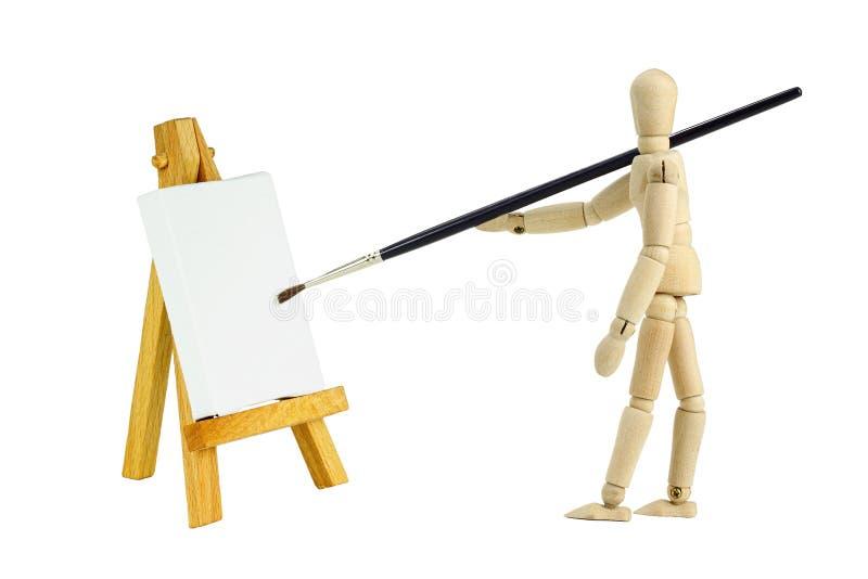 sztalugi mannequin zdjęcie stock