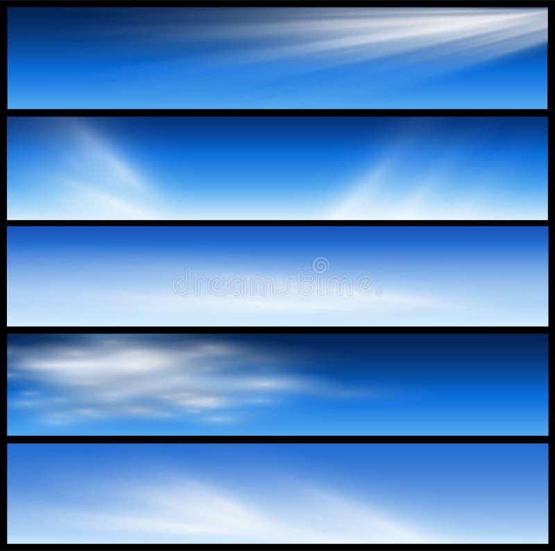 sztandarów chodnikowowie ilustracji