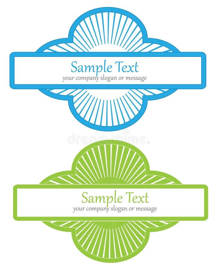 sztandarów elementy ilustracji