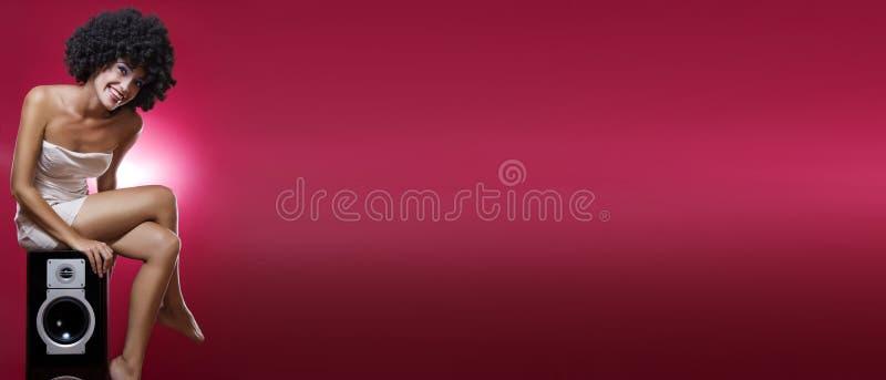 sztandar czerwień zdjęcia royalty free
