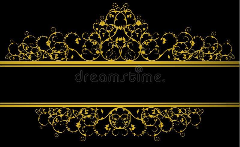 sztandar dekoracyjny ilustracji