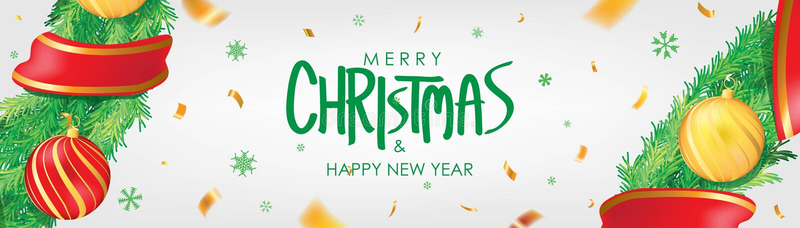 sztandaru bożych narodzeń eps10 ilustraci wektor Białego Bożego Narodzenia tło z boże narodzenie piłkami, płatek śniegu i złoto c ilustracja wektor