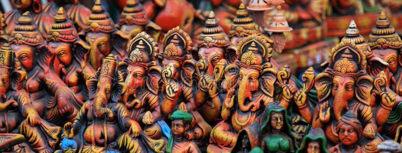 sztandaru ganesha władyka zdjęcie royalty free