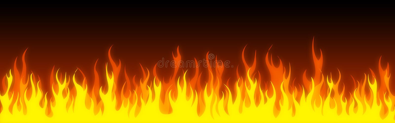 sztandaru pożarnicza chodnikowa sieć royalty ilustracja
