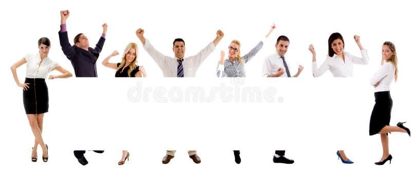 sztandaru różnorodności ludzie zdjęcia stock