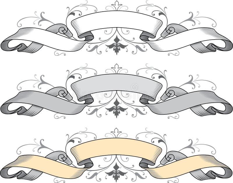 sztandary ilustracja wektor