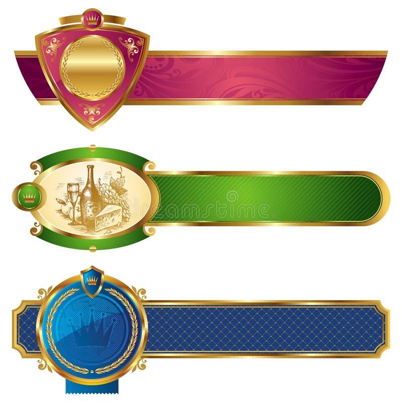 sztandary obramiali złotego luksus