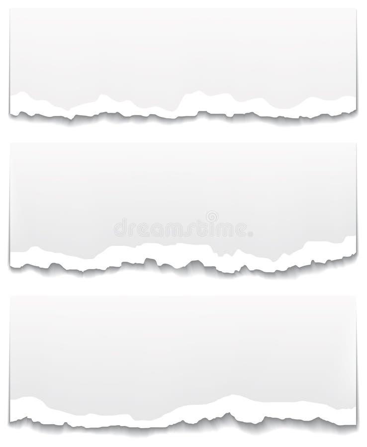sztandary tapetują poszarpanego odlepiającego ilustracji