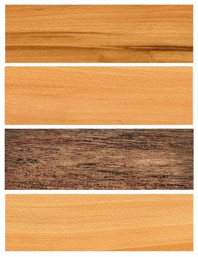 sztandary ustawiają drewnianego zdjęcie royalty free