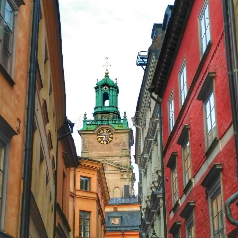 Sztokholm klimaty obrazy royalty free