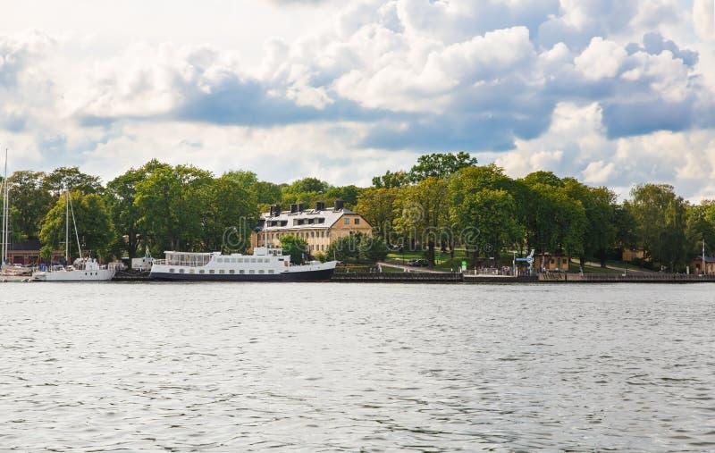 Sztokholm miasta widok zdjęcie stock