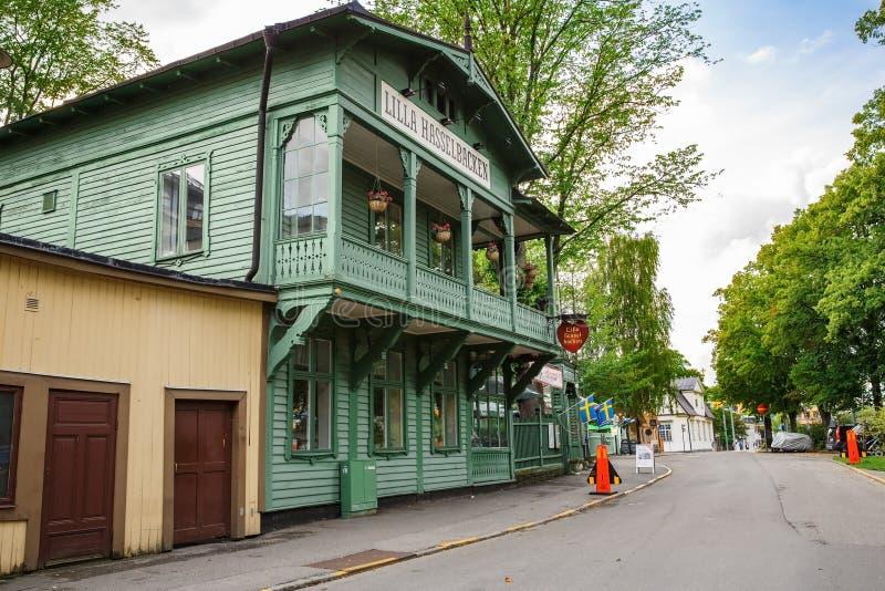 Sztokholm miasta widok obraz royalty free