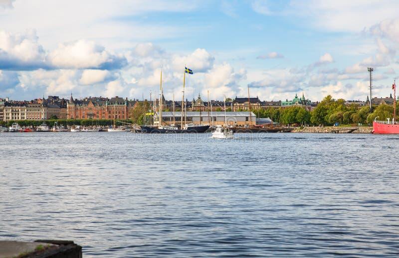 Sztokholm miasta widok obrazy stock