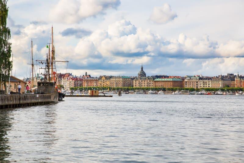 Sztokholm miasta widok zdjęcia stock