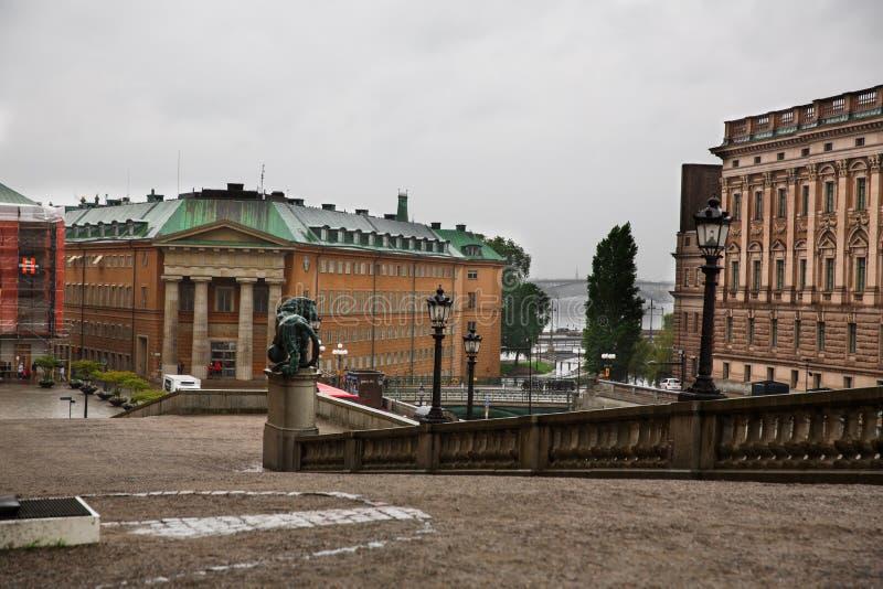 Sztokholm miasto fotografia royalty free