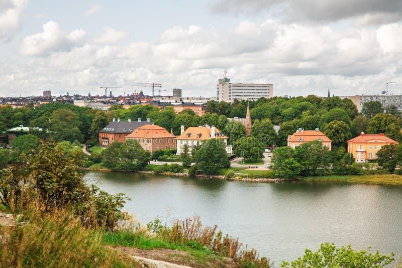 Sztokholm miasto zdjęcie royalty free