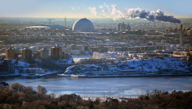 Sztokholm miasto fotografia stock