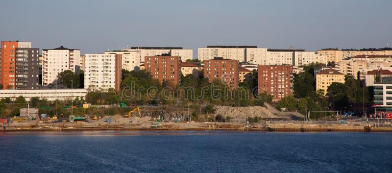 Sztokholm miasto przygoda w Scandinavia zdjęcie stock