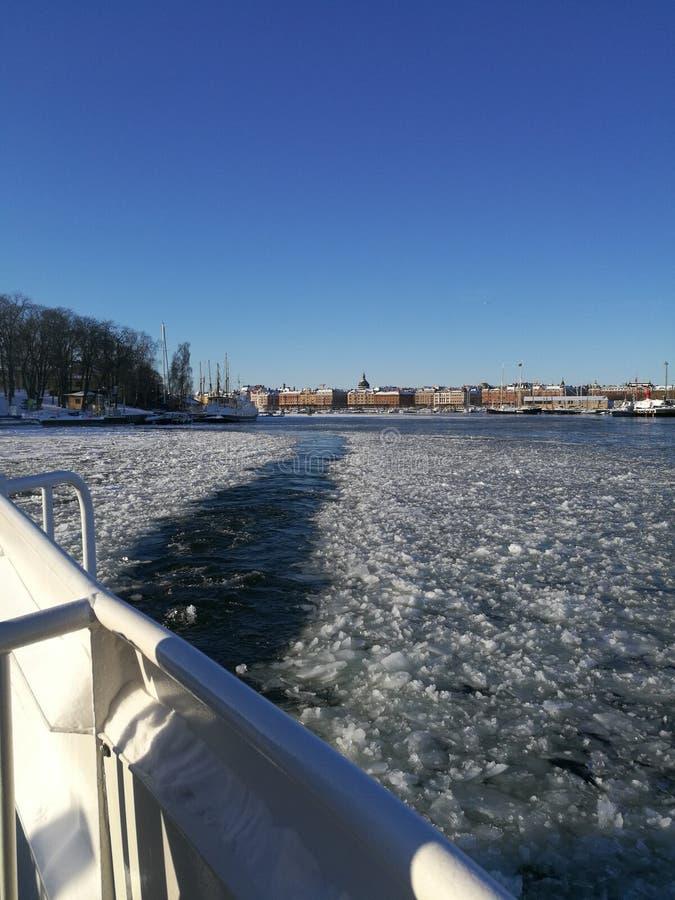Sztokholm zatoka zdjęcie stock