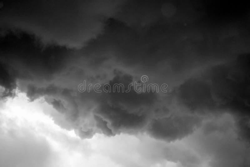 sztorm chmur obrazy royalty free