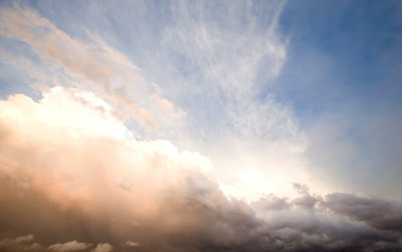 sztorm chmur zdjęcia royalty free