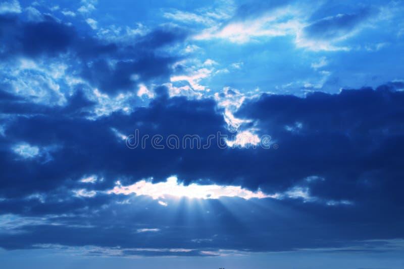 sztorm chmur obraz royalty free