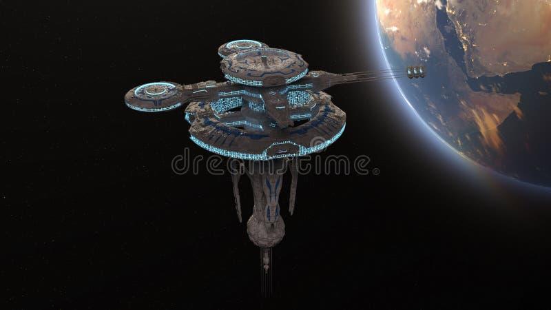 sztuczna satelita zdjęcie royalty free