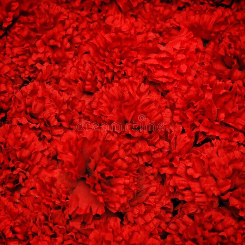 sztuczna tła kwiatu czerwień fotografia royalty free