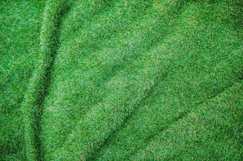 Sztuczna trawa marszczący tło. Dla sztuki tekstury lub sieci desi zdjęcia royalty free