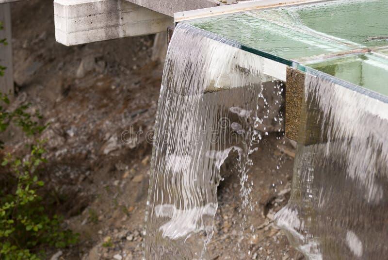 sztuczna wodospadu zdjęcia stock