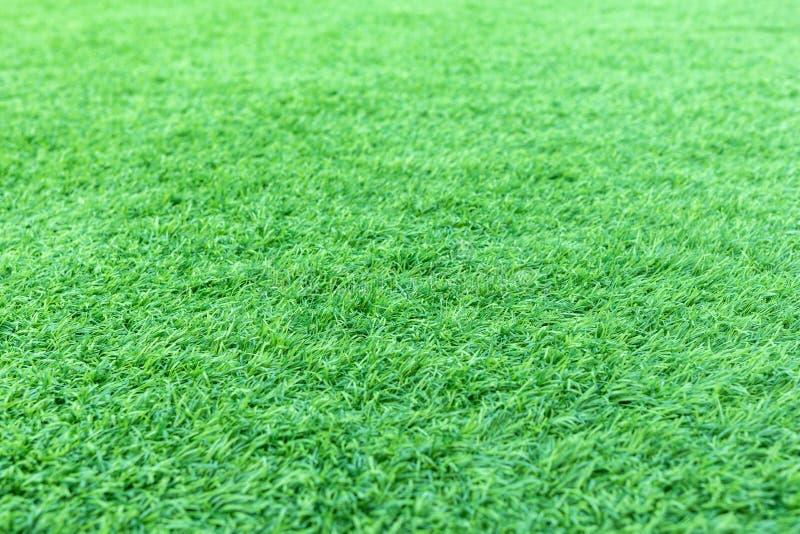 Sztuczna zielona trawa lub astroturf dla tła fotografia stock