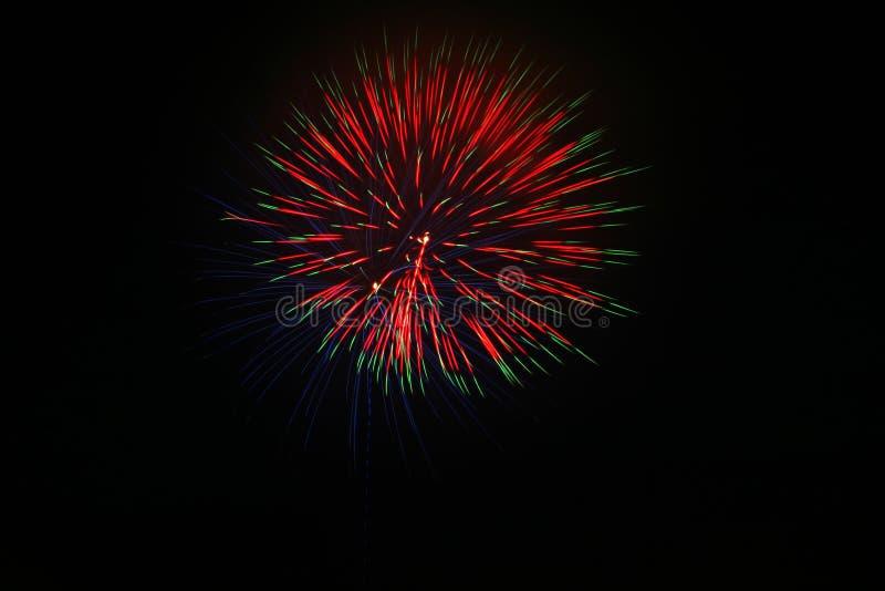 sztuczne ognie Lipowie 4. zdjęcia stock